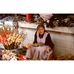 Flower Market in Cochabamba