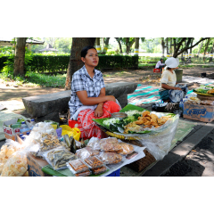 Lunch Stall at Prambanan