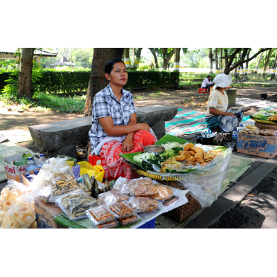 Lunch Stall at Prambanan