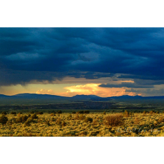 A New Mexico Sunset